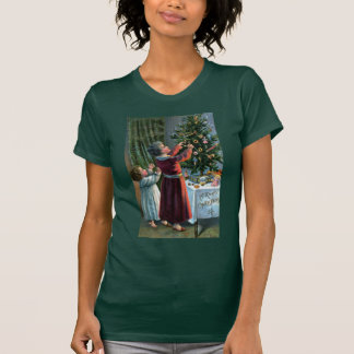 Decorating the Tabletop Tree T-shirts