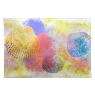 Decorating with Seashells Cloth Placemat