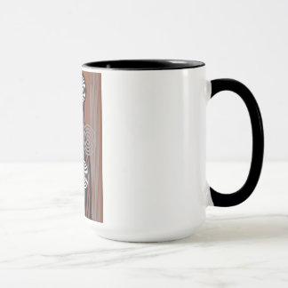 Decoration art déco mug
