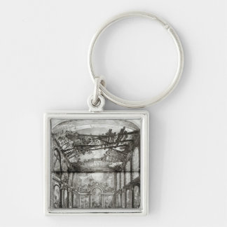 Decoration of the chapel of the Hospice Keychain