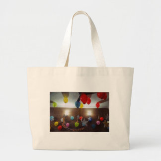 Decorations for a birthday jumbo tote bag