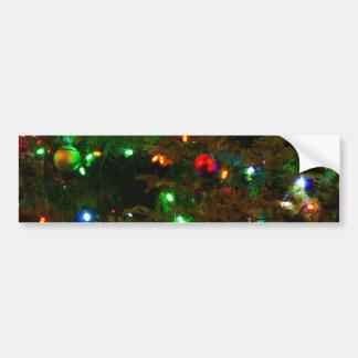Decorations Glow Car Bumper Sticker