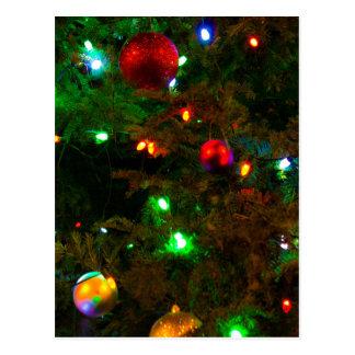 Decorations Glow Postcard