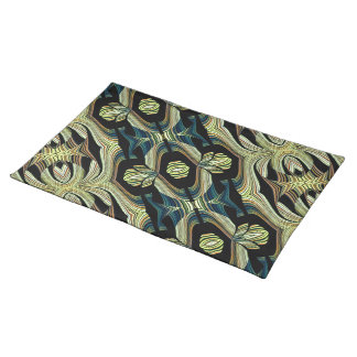 Decorative Abstract American Mojo Design Place Mats