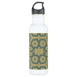 Decorative abstract art 24oz water bottle