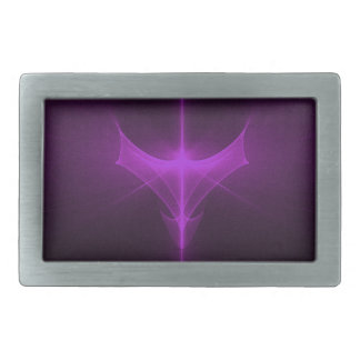 Decorative abstract background glowing belt buckle