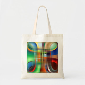 Decorative Abstract  CUBE Tote Bag
