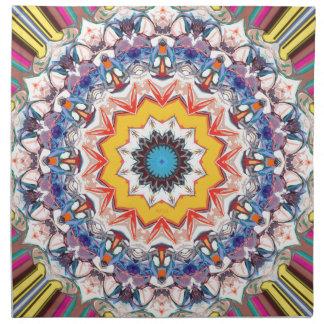 Decorative Abstract Design Cloth Napkin