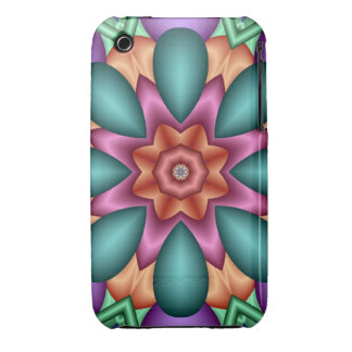 Decorative abstract kaleidosco iPhone 3G/3GS Case iPhone 3 Cases
