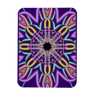 Decorative abstract magnet in trendy colors