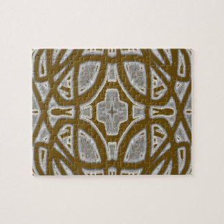 Decorative abstract pattern jigsaw puzzles