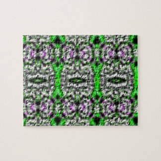 Decorative abstract pattern puzzle