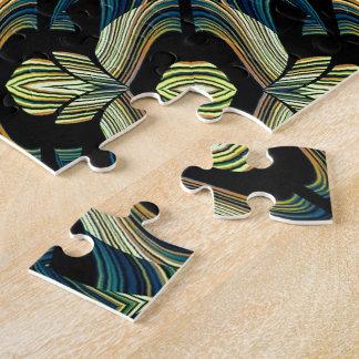 Decorative Abstract Puzzle Design