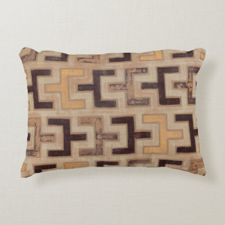 Decorative African Mudcloth Pattern Accent Pillow