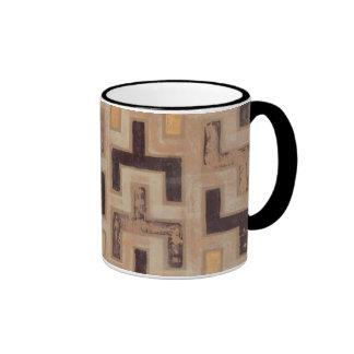Decorative African Mudcloth Pattern Mug