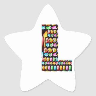 Decorative Alphabets - Party Giveaway Star Stickers