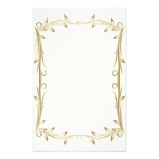 Gold Elegant Paper Borders Designs