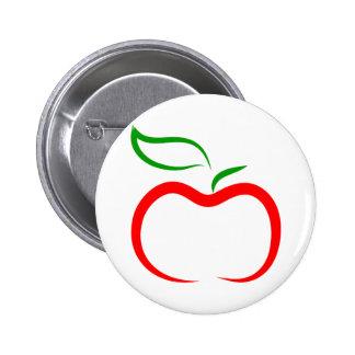 Decorative Apple Button