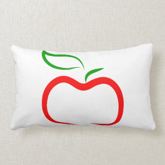 Decorative Apple Lumbar Pillow