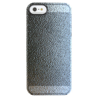 Decorative Architectural Textured Glass Look Uncommon Clearly™ Deflector iPhone 5 Case