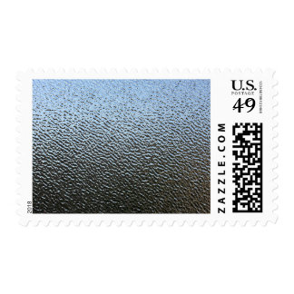 Decorative Architectural Textured Glass Look Postage Stamp