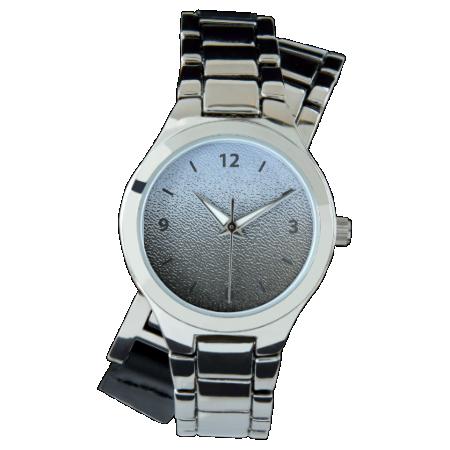 Decorative Architectural Textured Glass Look Wristwatch