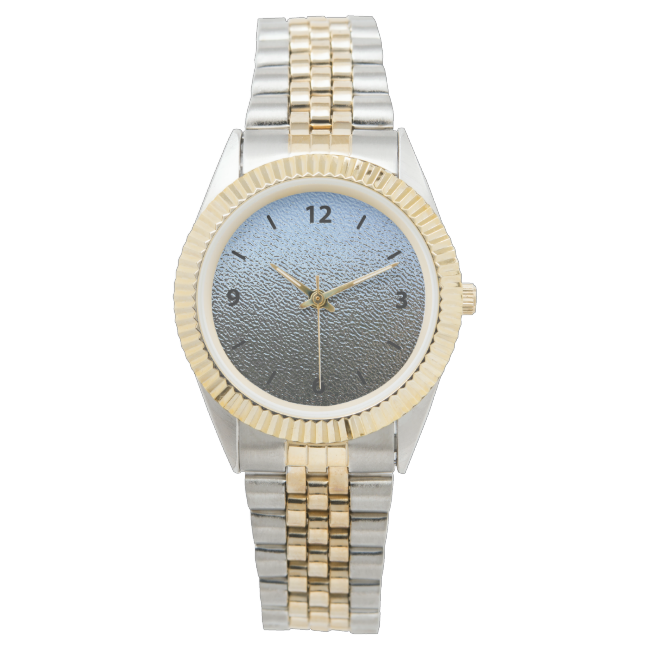 Decorative Architectural Textured Glass Look Wrist Watch