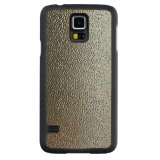 Decorative Architectural Textured Glass Look Carved® Maple Galaxy S5 Slim Case
