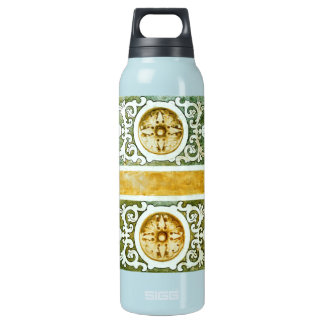 Decorative Art Insulated Water Bottle
