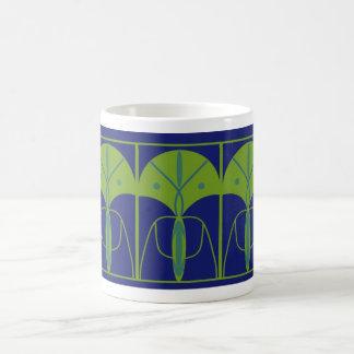 Decorative Art Nouveau Mug