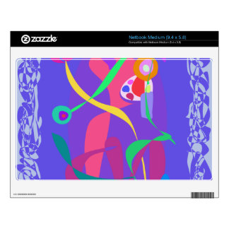 Decorative Art Decal For Netbook