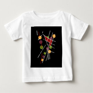 Decorative artistic abstraction baby T-Shirt