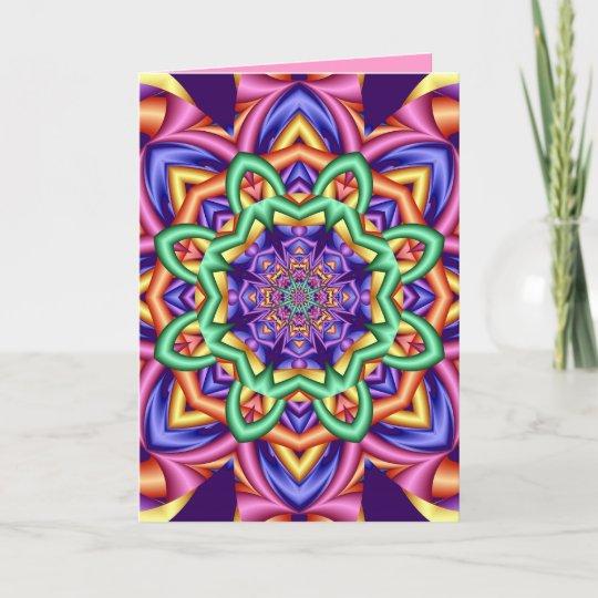 Decorative Artistic Birthday Card With Text Zazzle
