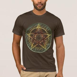 Decorative Autumn Shades Pentacle T Shirts