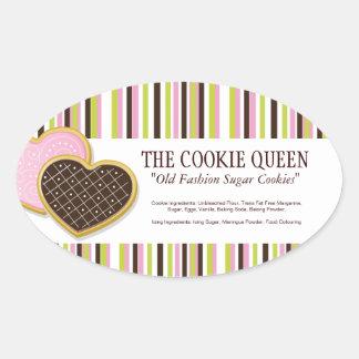 Decorative Bakery Ingredient Labels