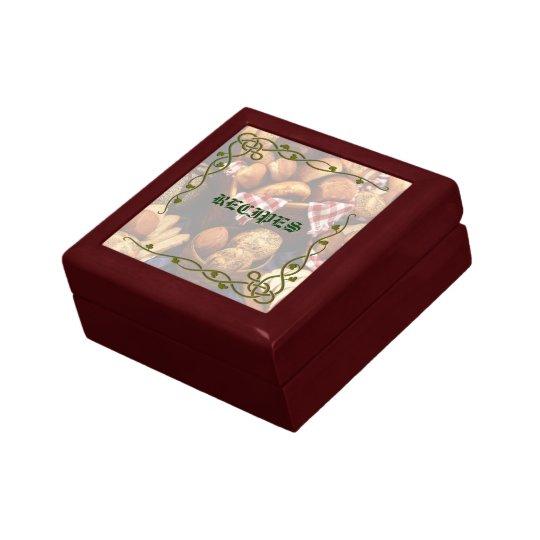 Decorative Recipe Box 2: Decorative Bakery Recipe Gift Box