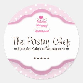Decorative Bakery Stickers