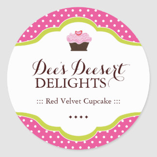 Decorative Bakery Stickers