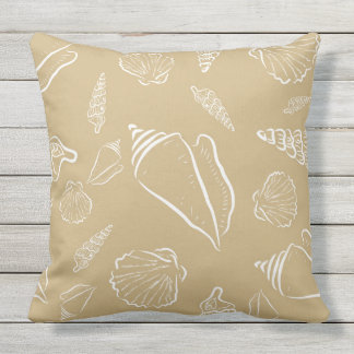 Beach Theme Outdoor Pillows & Cushions Zazzle