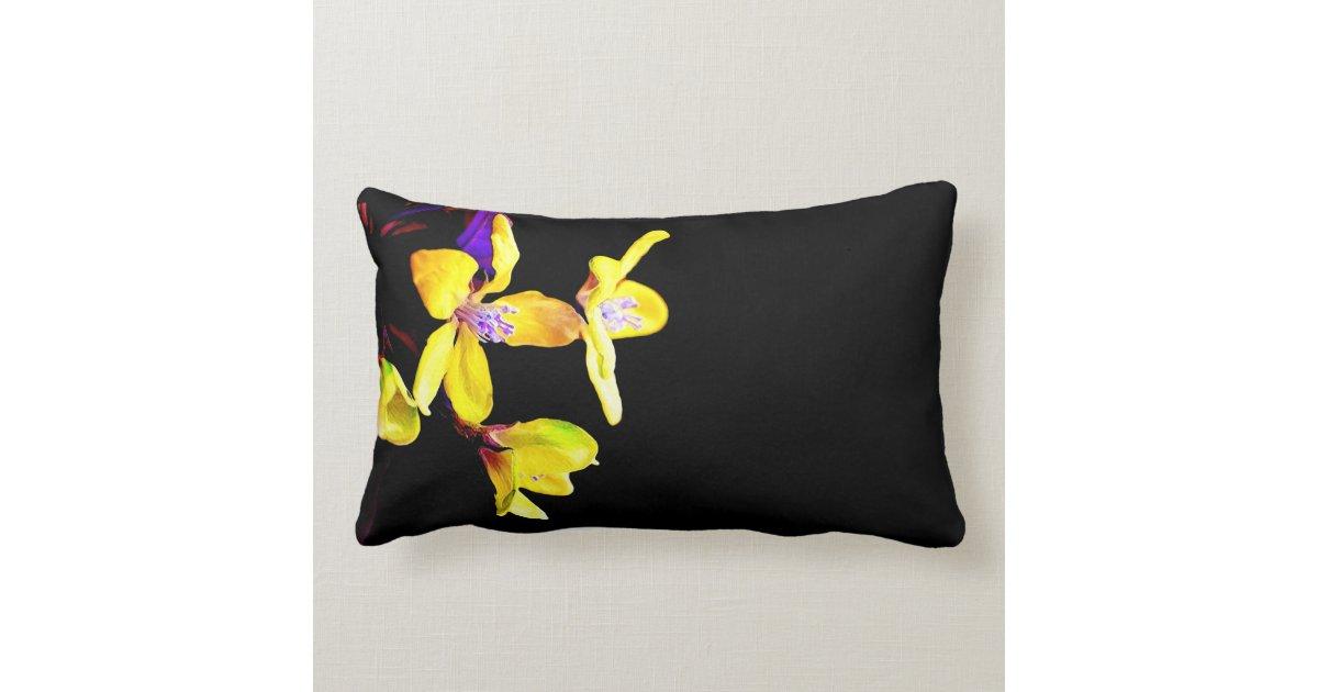 Black Chanel Throw Pillow : Decorative Black Throw Pillow Zazzle