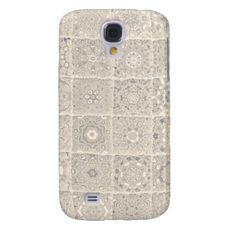 Decorative Block Pattern Samsung Galaxy S4 Cover