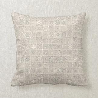 Decorative Block Pattern Throw Pillow