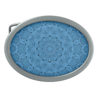 Decorative Blue Vintage Colorful Belt Buckle