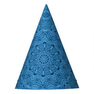 Decorative Blue Vintage   Customizable Party Hats