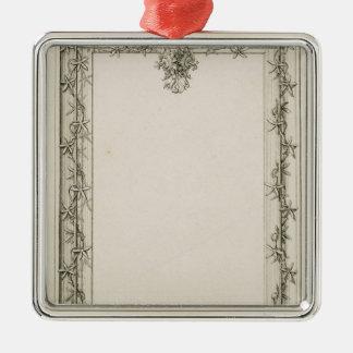 Decorative border, 1809 metal ornament