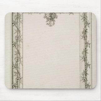 Decorative border, 1809 mouse pad