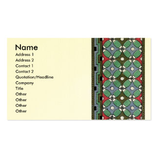 Decorative Border Design ( Owen Jones ) Double-Sided Standard Business Cards (Pack Of 100)