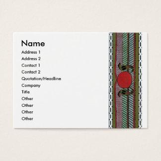 Decorative Border Design ( Owen Jones ) Business Card