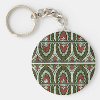 Decorative Border Design ( Owen Jones ) Keychain