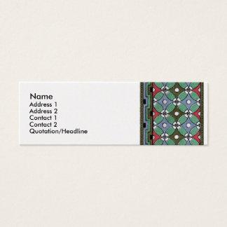 Decorative Border Design ( Owen Jones ) Mini Business Card